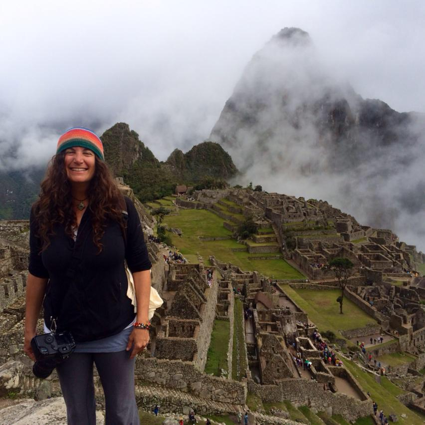 Tanya Sharkey, Perfectly Flawed Woman in Machu Picchu