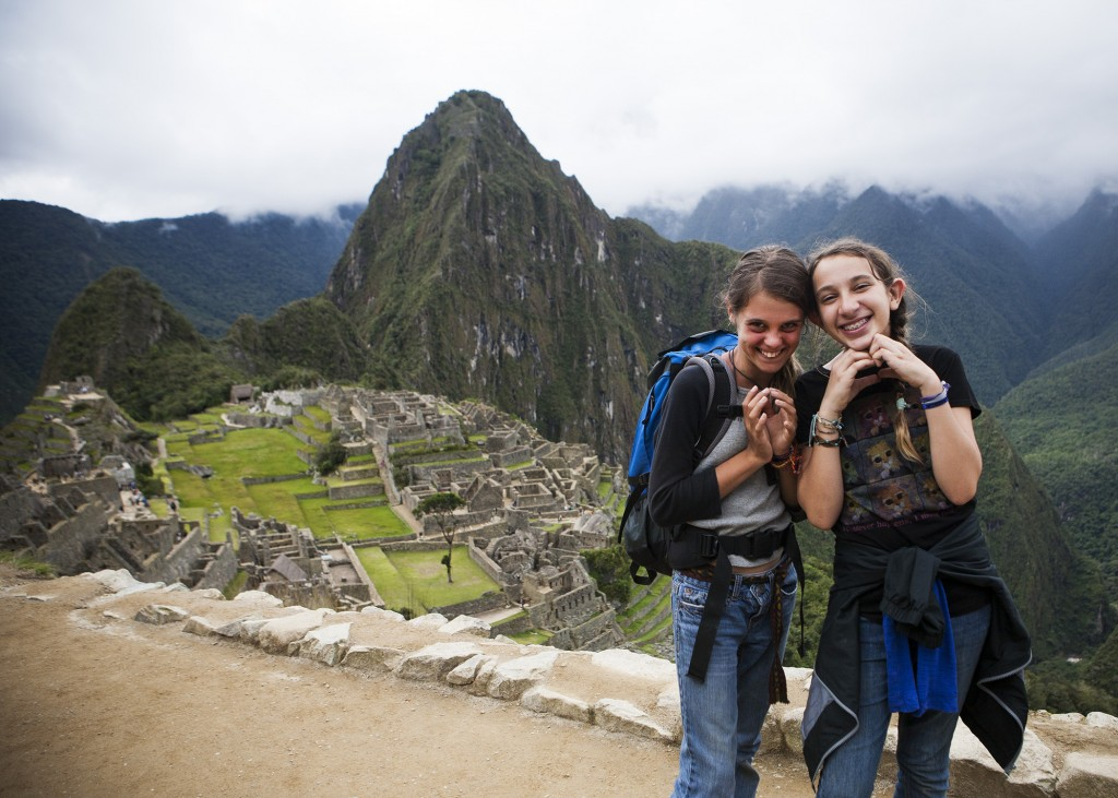 Adelaide Sharkey in Machu Picchu