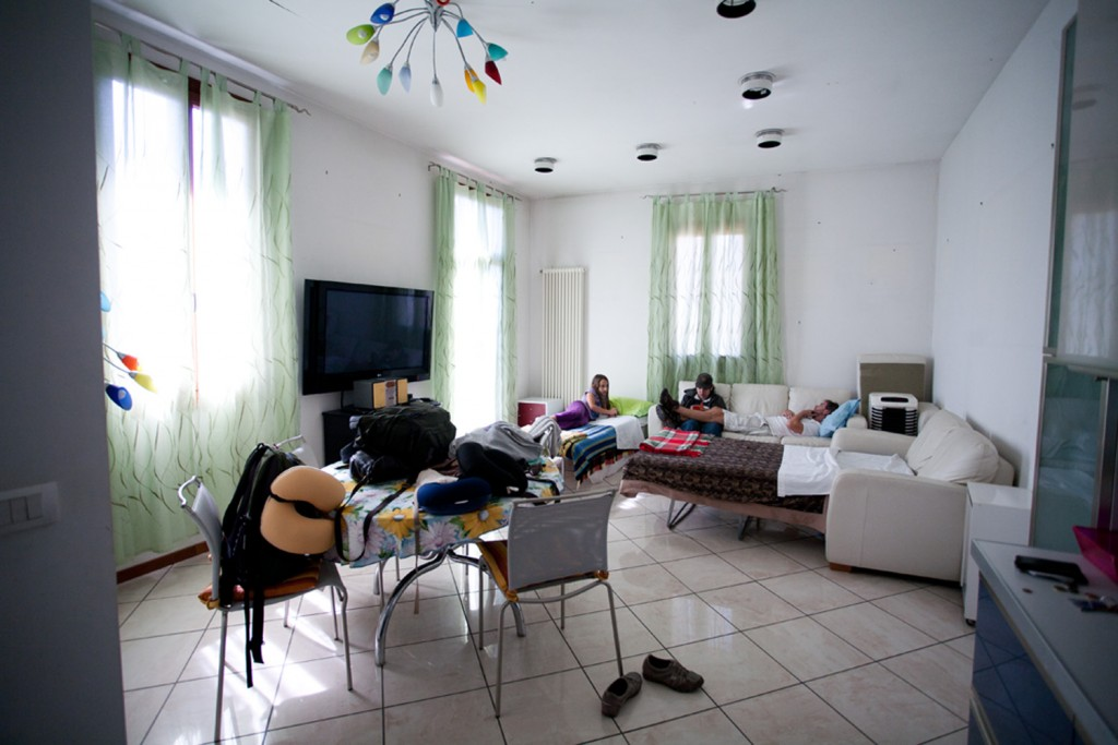 Airbnb apartment in Canneregio, Rome, Italy