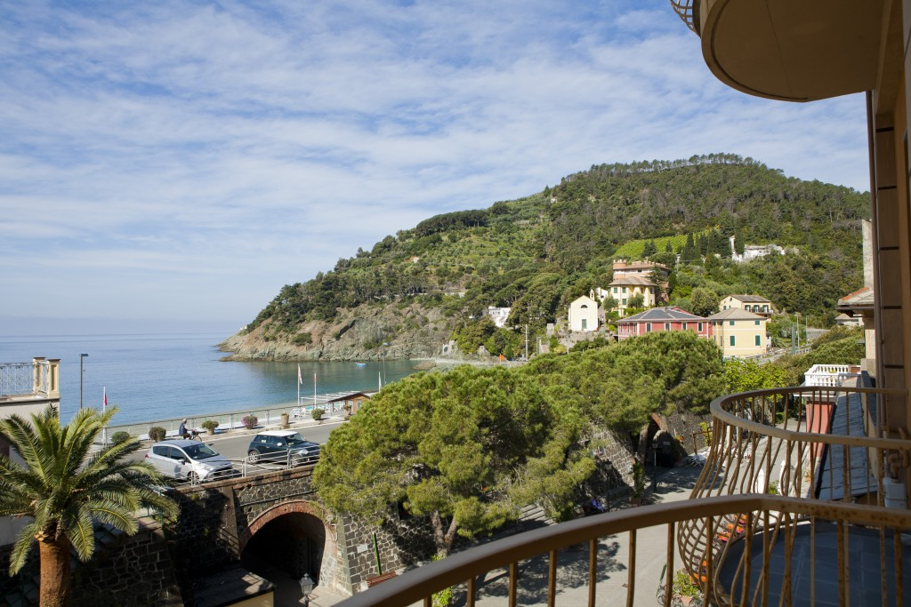 Ocean View apartment in Bonassola, Italy near the Cinque Terre, found on Airbnb